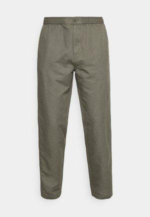 Kalhoty - khaki green