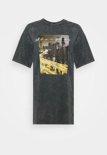 EXTRA TEE DRESS - Jerseykjole - grey