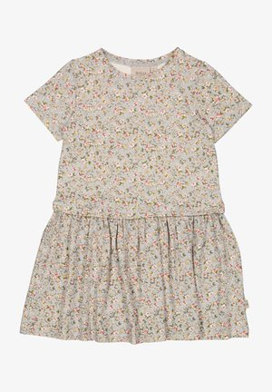 Day dress - dusty dove flowers