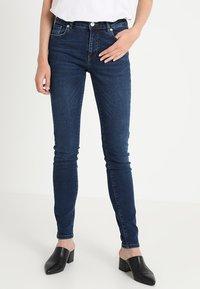 WHY7 - KATE - Jeans Skinny Fit - dark blue - 0