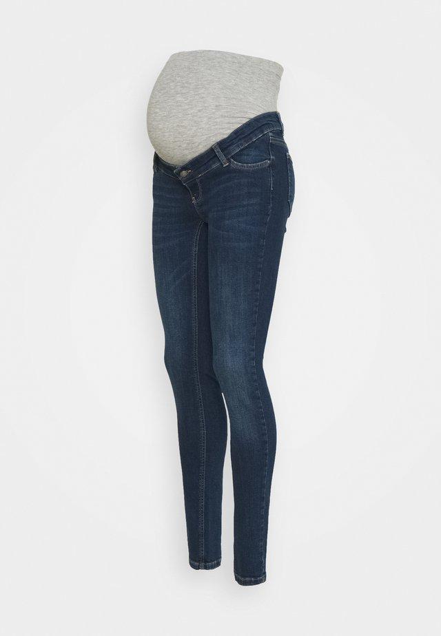 MLIOWA - Slim fit jeans - dark blue denim