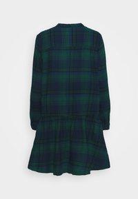 GAP - DRESS PLAID - Shirt dress - dark green - 8