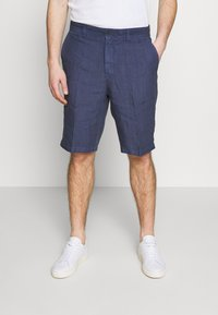 120% Lino - Shorts - dark blue fade - 0