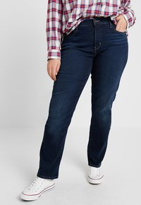 Levi's® Plus - SHAPING - Vaqueros rectos - dark horse - 0