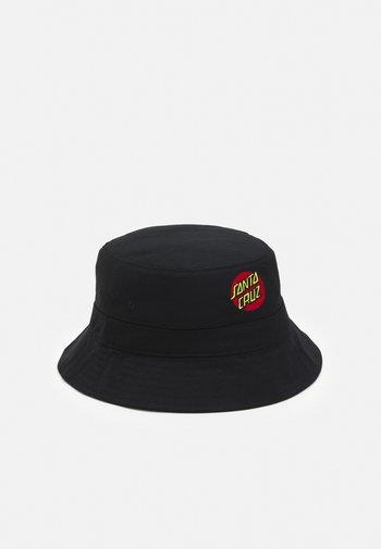 CLASSIC DOT BUCKET HAT REVERSIBLE UNISEX - Hat - black