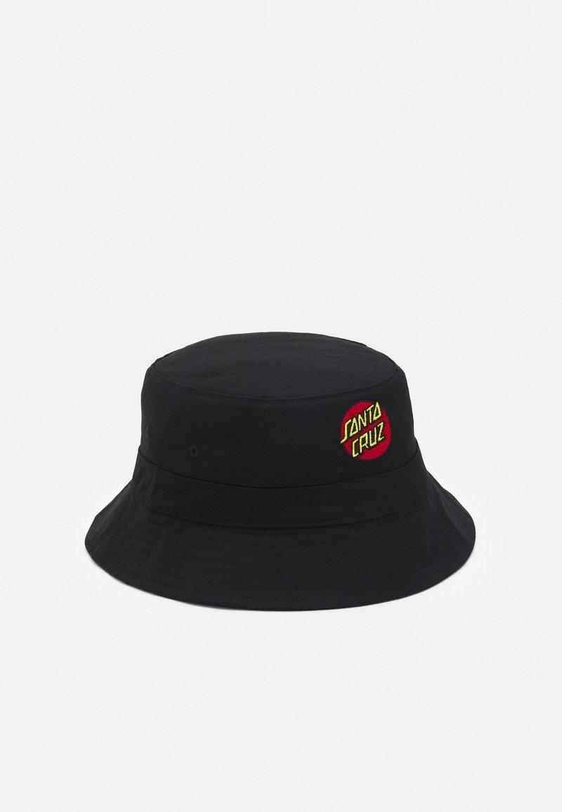 Santa Cruz - CLASSIC DOT BUCKET HAT REVERSIBLE UNISEX - Chapeau - black