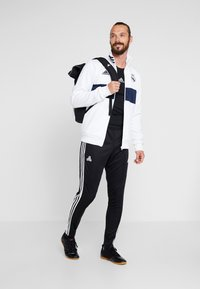 adidas Performance - TANGO AEROREADY CLIMACOOL FOOTBALL PANTS - Pantalones deportivos - black/white - 1