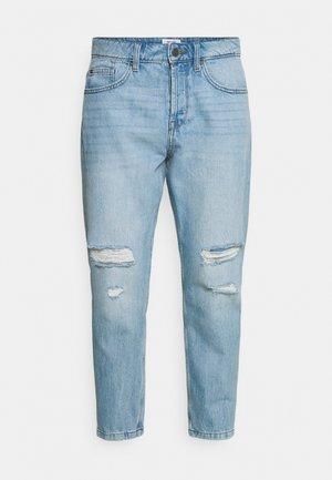 ONSAVI BEAM LIFE CROP - Jeans Tapered Fit - blue denim