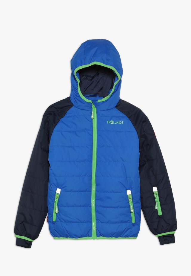 KIDS HAFJELL SNOW JACKET  - Lyžařská bunda - navy/med blue/green