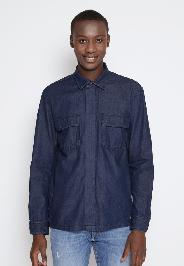 Camicia - blue rinse denim