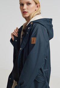 Derbe - TRAVEL COZY FRIESE - Waterproof jacket - navy - 3