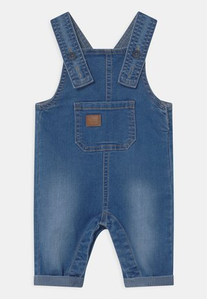 NBMBARRY DNMATUMLES - Salopette - medium blue denim