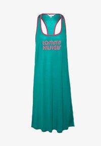 Tommy Hilfiger - POP TANK DRESS SHORT - Nightie - calypso green - 4