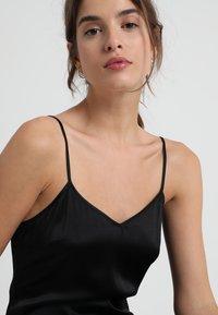 La Perla - REWARD SHORT SLIP DRESS - Nightie - black - 4