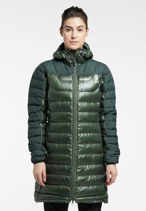 Down coat - fjell green