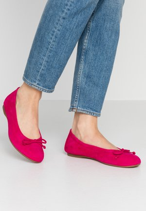 Ballet pumps - fuxia