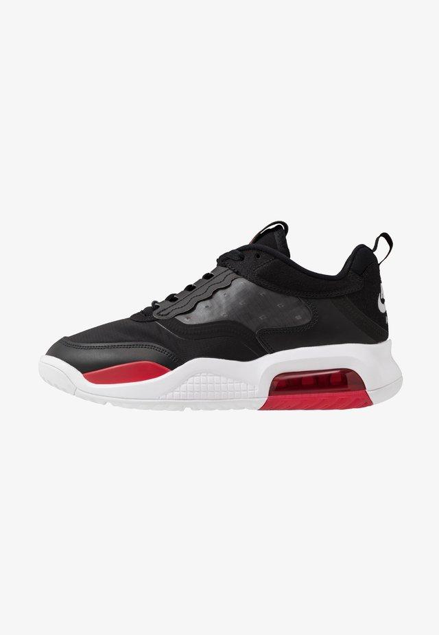 MAX 200 - Sneakersy niskie - black/gym red/white