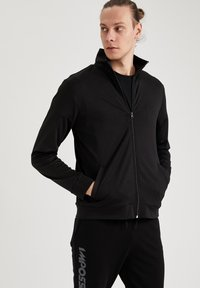 DeFacto Fit - Felpa aperta - black - 3