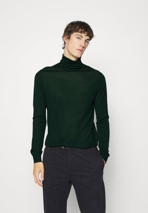 TURTLE NECK - Jumper - fir green