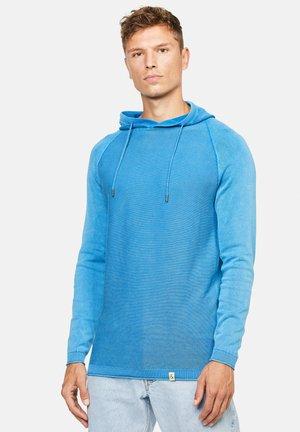 NOLAN - Felpa con cappuccio - blau