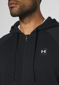 Under Armour - RIVAL HOODIE - Sweatjakke /Træningstrøjer - black/onyx white - 5