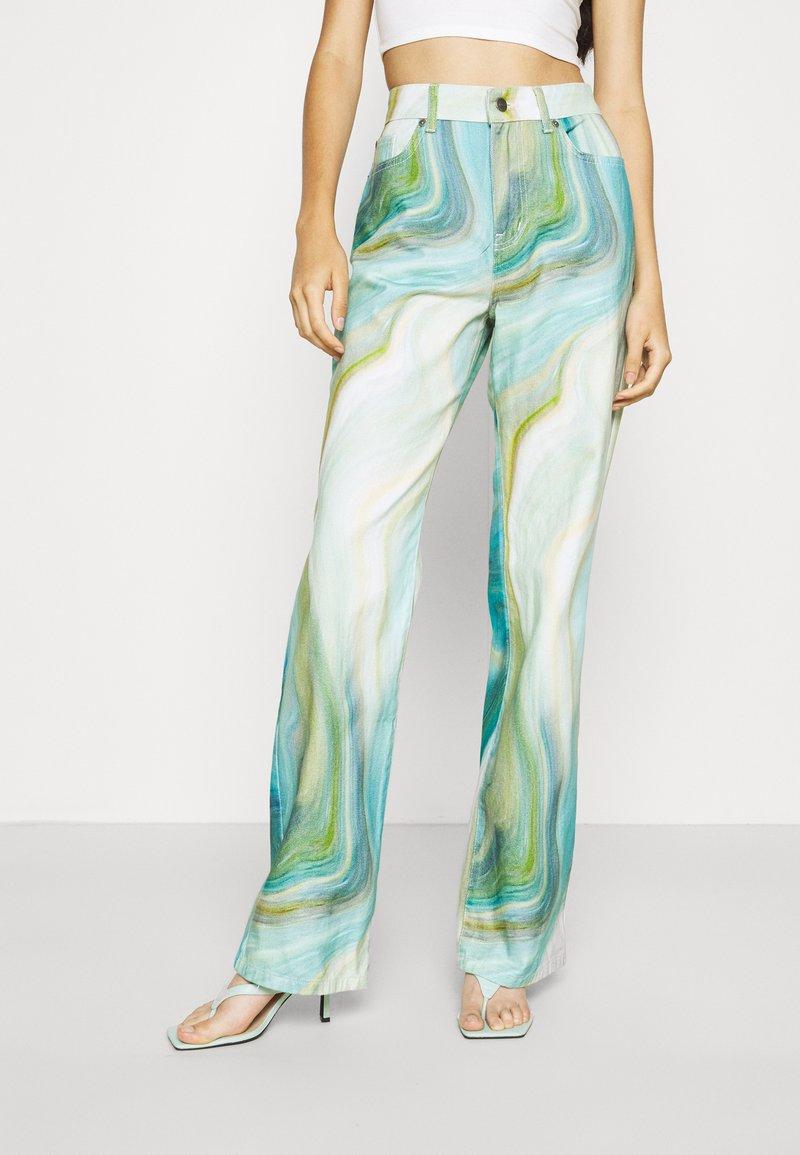 Jaded London - SLOUCHY BOYFRIEND   - Jeans relaxed fit - blue