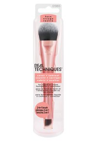 Real Techniques - DUAL ENDED COVER + CONCEAL - Makeup brush - -