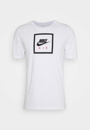 M NSW SS TEE AIR 2 - Triko s potiskem - white/black