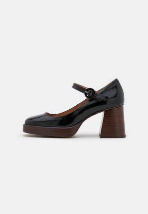 BOUBOU - Zapatos de plataforma - brillant noir