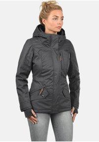 Desires - KURZJACKE BELLISSA - Winter jacket - dark grey - 0