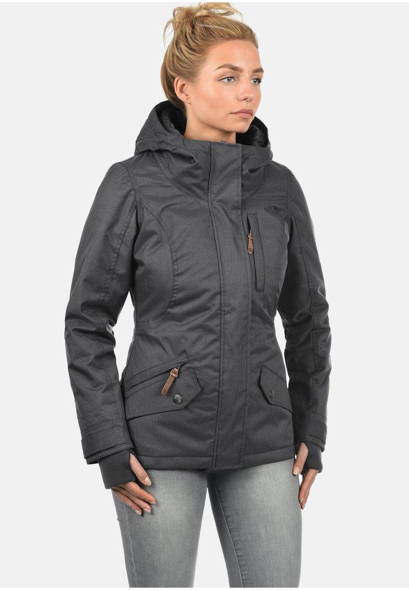 Desires - KURZJACKE BELLISSA - Winter jacket - dark grey