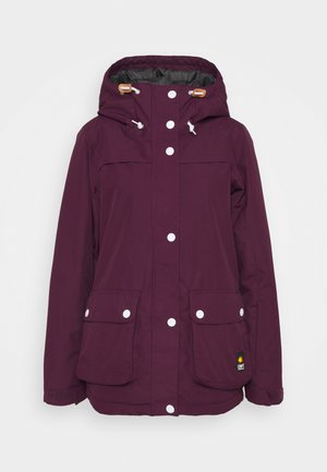 IDA JACKET - Snowboardjacke - deep red