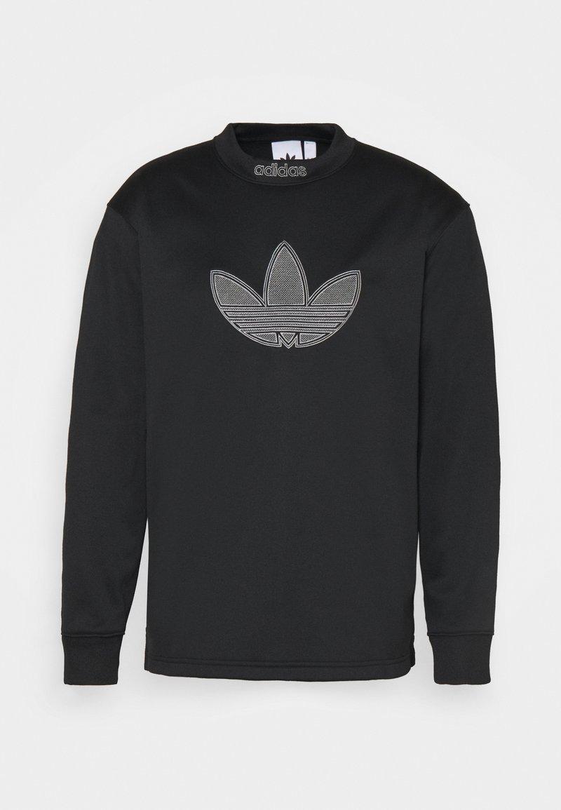 adidas Originals - LOGO CREW - Sweatshirt - black