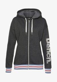 Bench - Zip-up sweatshirt - grau meliert - 0