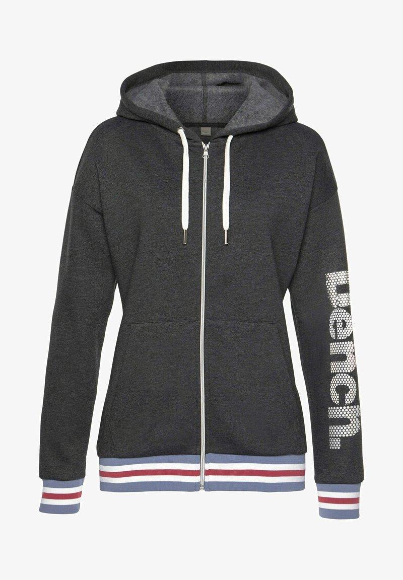 Bench - Zip-up sweatshirt - grau meliert