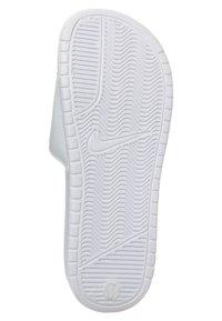 Nike Sportswear - BENASSI JDI - Pool slides - whire/varsity royal-white - 2