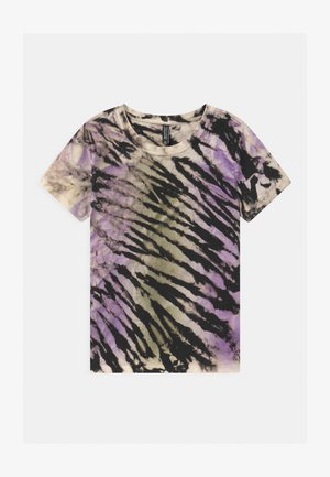 GIRLS - T-Shirt print - lila/black