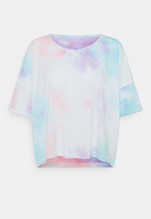 ONLZOEY LIFE TIE DYE TEE  - Print T-shirt - purple/blu