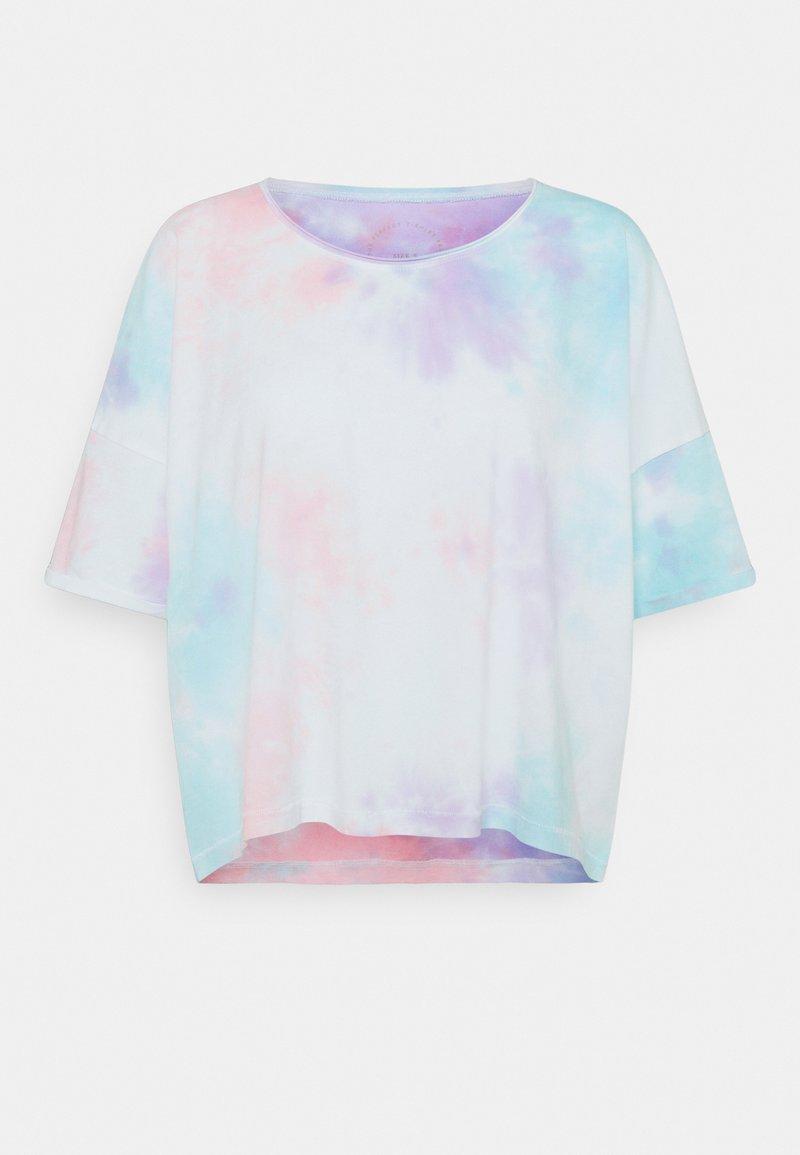 ONLY - ONLZOEY LIFE TIE DYE TEE  - Print T-shirt - purple/blu