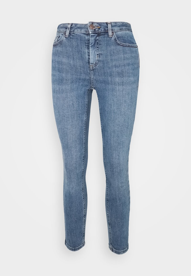 New Look Petite - MIDRISE SUPER - Skinny džíny - mid blue