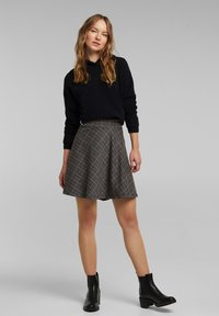 edc by Esprit - A-line skirt - anthracite - 1
