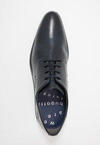 Bugatti - LUCAS - Smart lace-ups - dark blue - 1