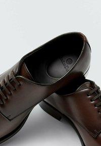 Massimo Dutti - Smart lace-ups - brown - 4