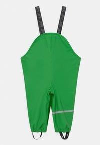 CeLaVi - RAINWEAR PANTS SOLID UNISEX - Rain trousers - green - 1
