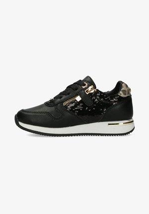EFLIN - Sneakers laag - black/gold