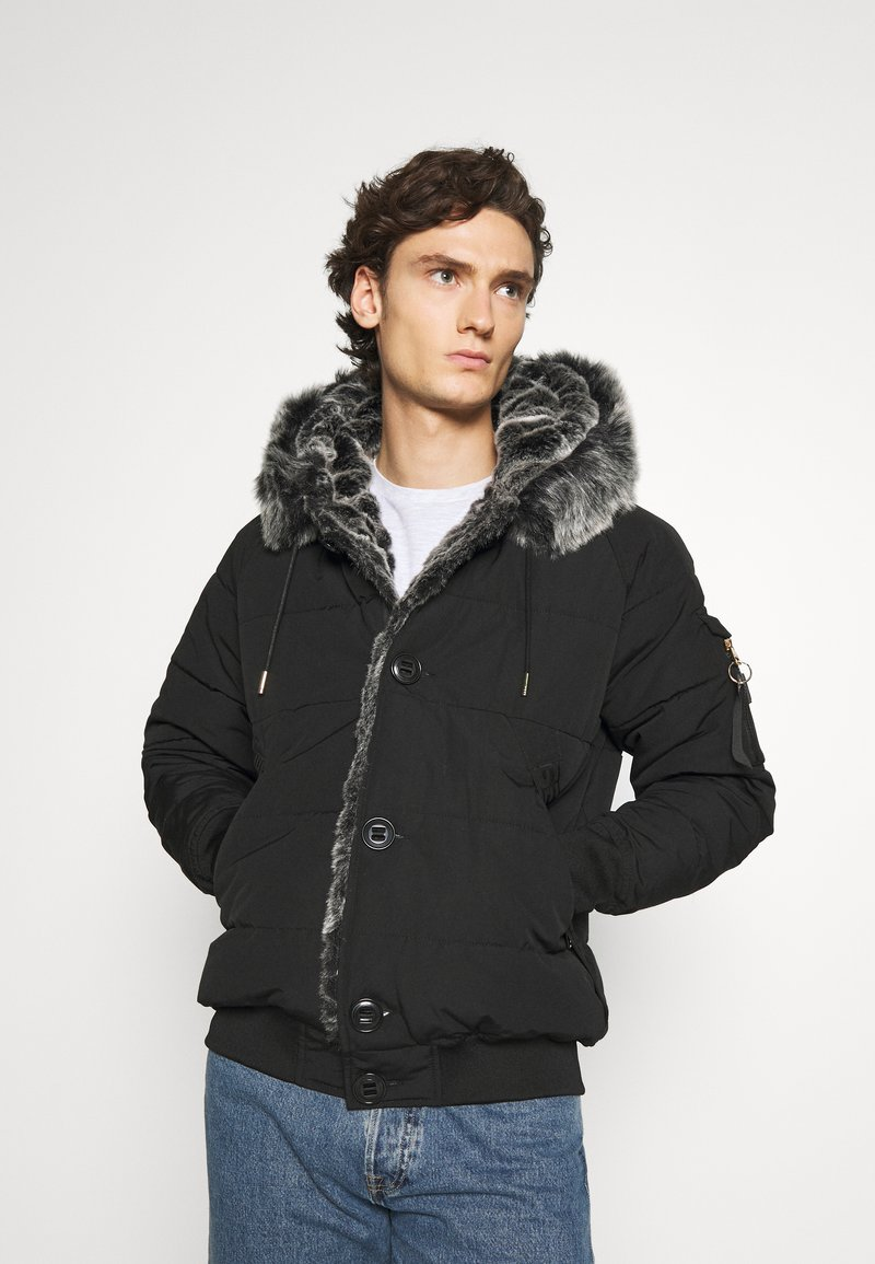 Glorious Gangsta - NAVIER - Zimní bunda - black