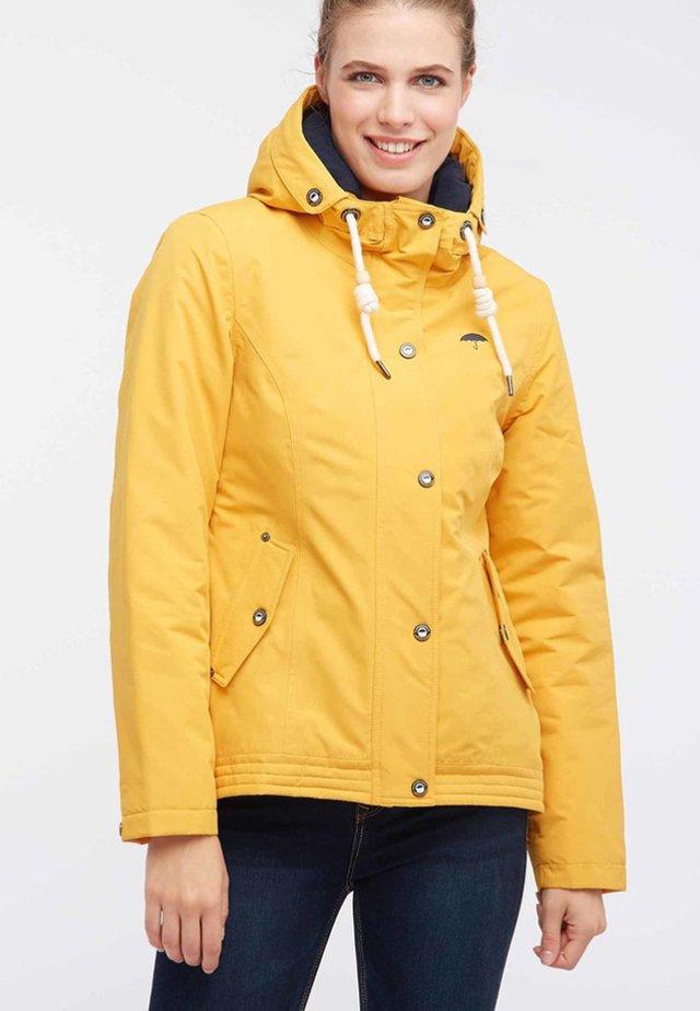 Parka - mustard yellow