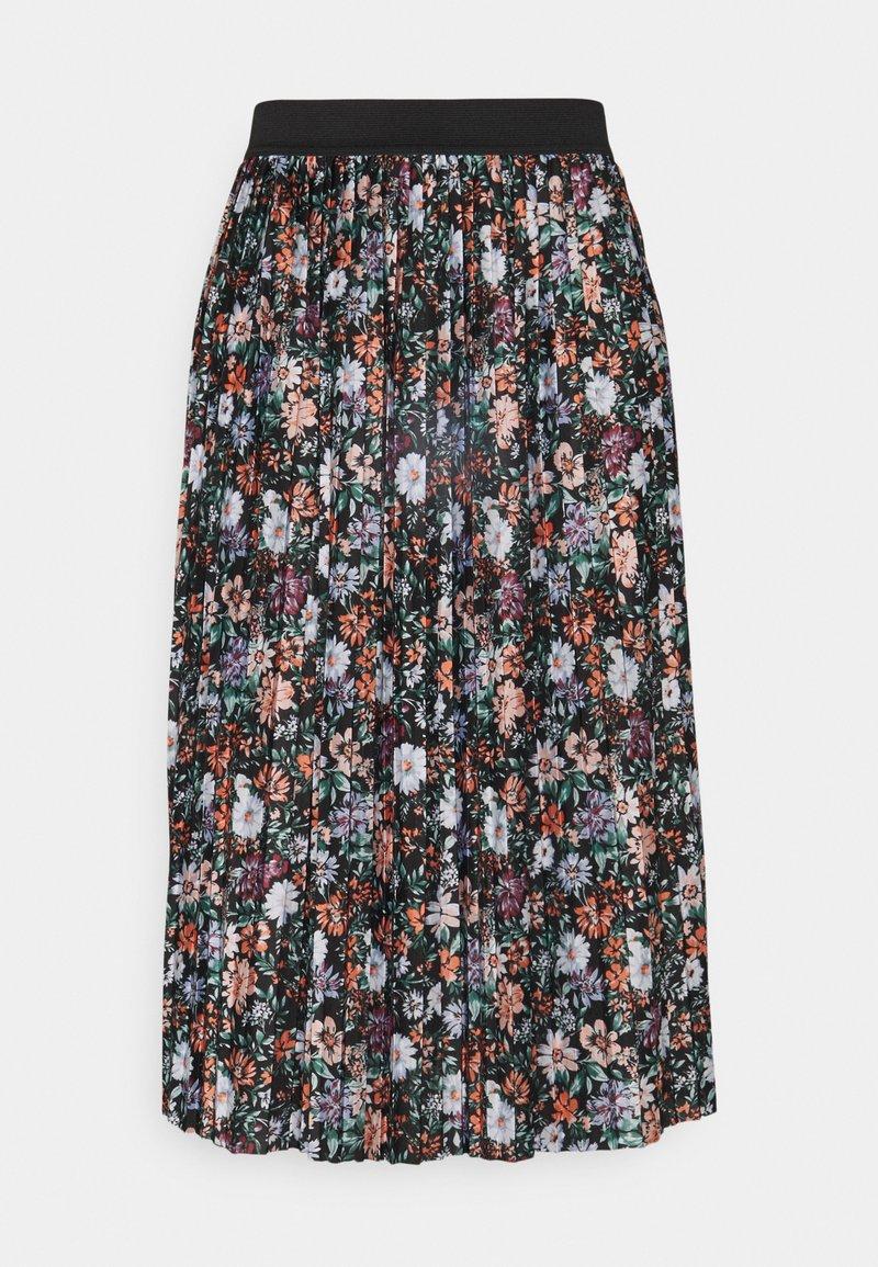 JDY - JDYBOA SKIRT - A-line skirt - black/green