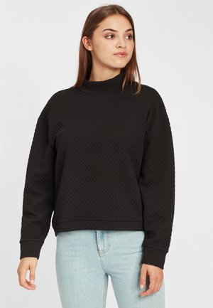 Sweatshirt - black out