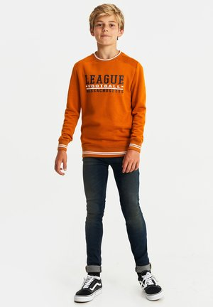 Sweatshirt - ochre yellow